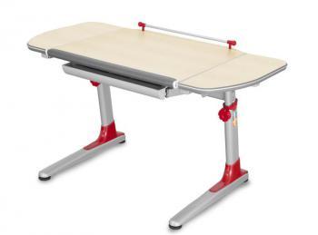 Rostoucí dětský stůl YOUNG COLLEGE PROFI3 v provedení TEEN'S WINGS, červené umělohmotné díly Mayer 32P3_11_TW