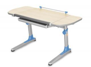 Rostoucí dětský stůl YOUNG COLLEGE PROFI3 v provedení TEEN'S WINGS, modré umělohmotné díly