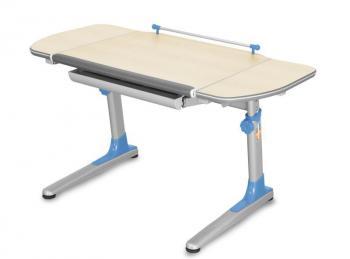 Rostoucí dětský stůl YOUNG COLLEGE PROFI3 v provedení TEEN'S WINGS, modré umělohmotné díly Mayer 32P3_17_TW