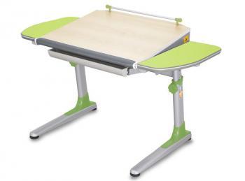 Rostoucí stůl YOUNG COLLEGE PROFI3 v provedení STANDARD, zelené boční desky Mayer 32P3_13