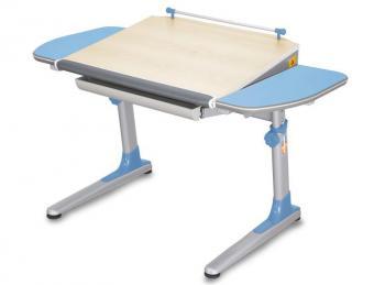 Rostoucí stůl YOUNG COLLEGE PROFI3 v provedení STANDARD, modré boční desky Mayer 32P3_17