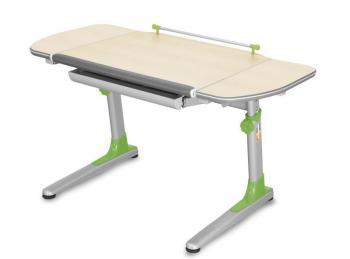 Rostoucí dětský stůl YOUNG COLLEGE PROFI3 v provedení TEEN'S WINGS, zelené umělohmotné díly Mayer 32P3_13_TW