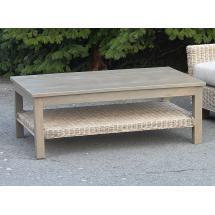 Konferenční stolek, masiv mango, 40x111,5x67 cm
