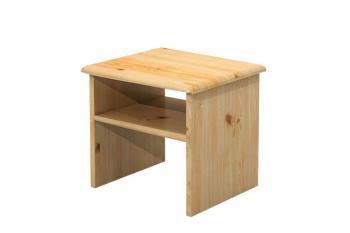 Noční stolek, masiv smrk Bradop B711