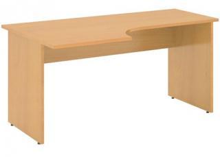 Kancelářský stůl STABIL, levý, 160x90cm