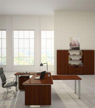 Kancelářský stůl LINE OFFICE, levý 200x100,8cm