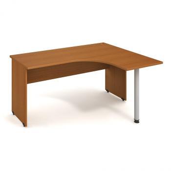 Kancelářský stůl GATE, GE 60 L, 160x75,5x120cm HOBIS GE 60 L