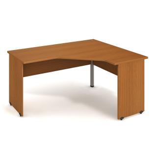 Kancelářský rohový stůl GATE, GEV 60 L, 160x75,5x120cm