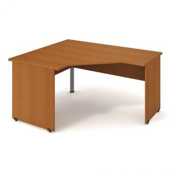 Kancelářský rohový stůl GATE, GEV 80 P, 160x75,5x120cm HOBIS GEV 80 P