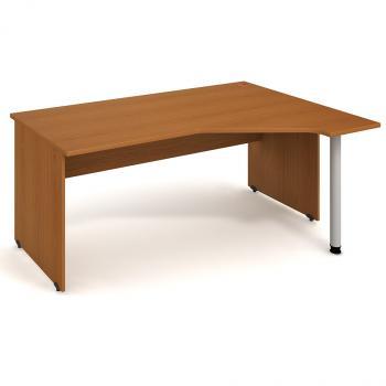 Kancelářský stůl GATE, GEV 1800 L, 180x75,5x120cm HOBIS GEV 1800 L