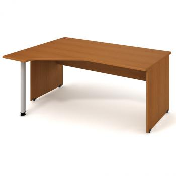 Kancelářský stůl GATE, GEV 1800 P, 180x75,5x120cm HOBIS GEV 1800 P