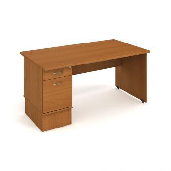 Kancelářský stůl GATE, GSK 1400 22, 140x75,5x80cm HOBIS GSK 1400 22