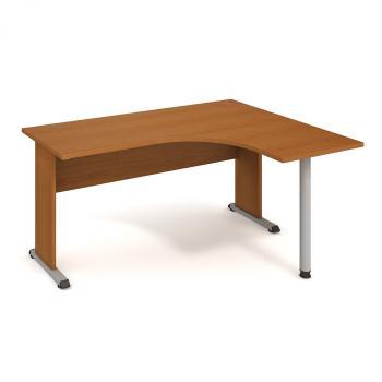 Kancelářský stůl PROXY, PE 60 L, 160x75,5x120(60x60)cm HOBIS PE 60 L