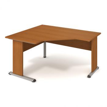 Kancelářský rohový stůl PROXY, PEV 80 P, 160x75,5x120(80x60)cm HOBIS PEV 80 P