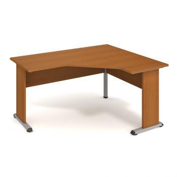 Kancelářský rohový stůl PROXY, PEV 60 L, 160x75,5x120(60x60)cm HOBIS PEV 60 L