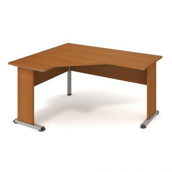 Kancelářský rohový stůl PROXY, PEV 60 P, 160x75,5x120(60x60)cm HOBIS PEV 60 P