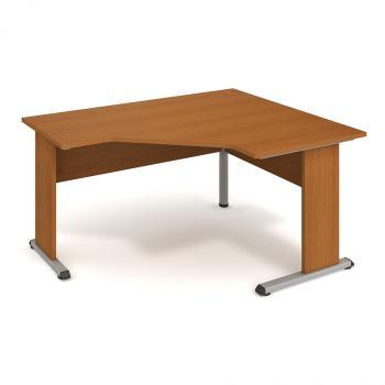 Kancelářský rohový stůl PROXY, PEV 80 L, 160x75,5x120(60x80)cm HOBIS PEV 80 L