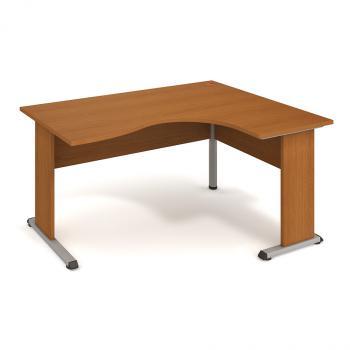Kancelářský rohový stůl PROXY, PE 2005 L, 160x75,5x120(80x60)cm HOBIS PE 2005 L