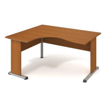 Kancelářský rohový stůl PROXY, PE 2005 P, 160x75,5x120(60x80)cm HOBIS PE 2005 P