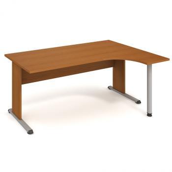 Kancelářský stůl PROXY, PE 1800 L, 180x75,5x120(80x40)cm HOBIS PE 1800 L