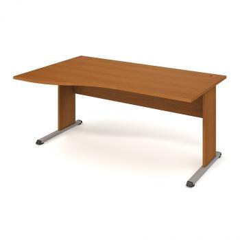 Kancelářský stůl PROXY, PE 1000 P, 180x75,5x100(80)cm HOBIS PE 1000 P