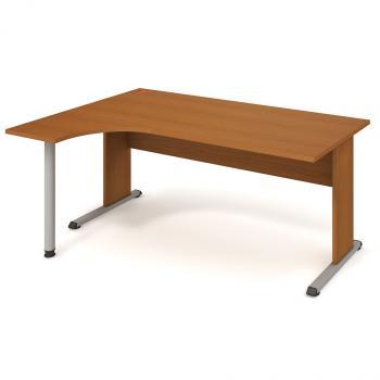Kancelářský stůl PROXY, PE 1800 P, 180x75,5x120(40x80)cm HOBIS PE 1800 P