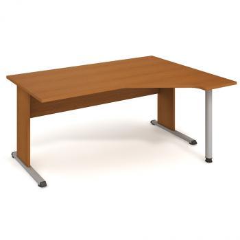 Kancelářský stůl PROXY, PEV 1800 L, 180x75,5x120(80x40)cm HOBIS PEV 1800 L