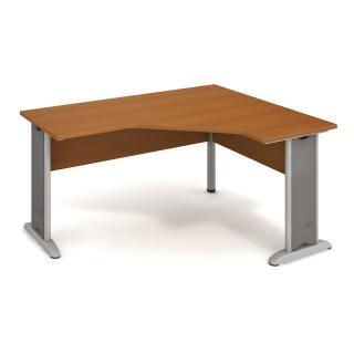 Kancelářský rohový stůl CROSS CEV 60 L, 160x75,5x120(60x60)cm