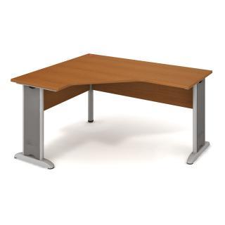 Kancelářský rohový stůl CROSS CEV 60 P, 160x75,5x120(60x60)cm