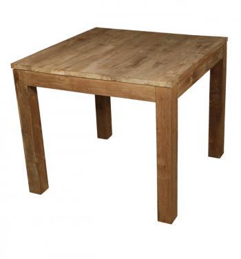 Jídelní stůl, masiv teak, 75x90x90 cm HD NABYTEK A20122
