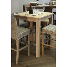 Jídelní stůl, masiv mango, 104x80x80 cm