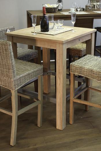 Jídelní stůl, masiv mango, 104x80x80 cm HD NABYTEK A20155