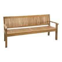 Teaková zahradní lavice KINGSBURY 180 cm