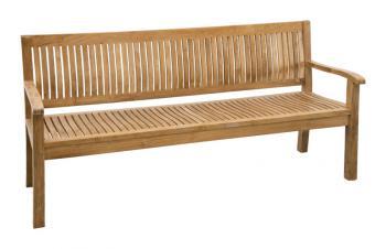 Teaková zahradní lavice KINGSBURY 180 cm Zahradní nábytek s.r.o. CTM040506-04