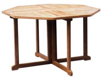 Zahradní teakový stůl GENIUS, 90x90 cm Zahradní nábytek s.r.o. CTM020506-12