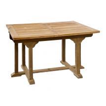 Zahradní teakový stůl BALANCE 180, rozkládací, 120/180x90 cm
