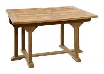 Zahradní teakový stůl BALANCE 180, rozkládací, 120/180x90 cm Zahradní nábytek s.r.o. CTM020506-05