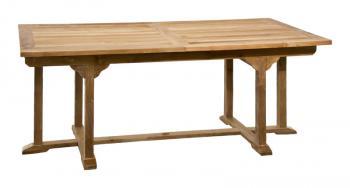 Zahradní teakový stůl BALANCE 240, rozkládací, 180/240x90 cm Zahradní nábytek s.r.o. CTM020506-06