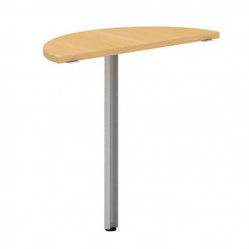 Přídavný stůl oblouk OfficePlus A, 800x350mm (přísed) ALFA ŘÍČANY 7010111