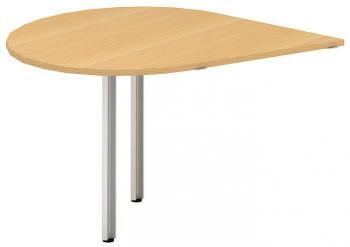 Přídavný stůl kapka OfficePlus A, 1200x1200mm (přísed pravý) ALFA ŘÍČANY 7010115