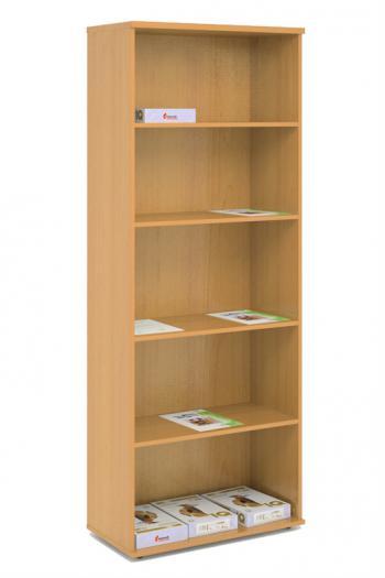 Kancelářská skříň - police STABIL, 74x37,2x190cm LENZA SC23