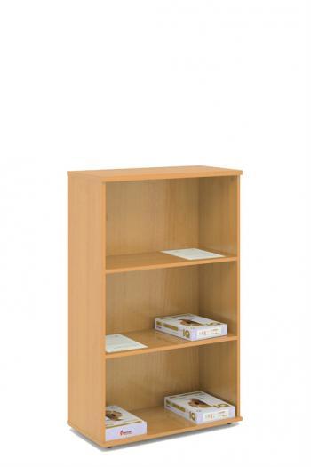 Kancelářská skříň - police STABIL, 74x37,2x119,6cm LENZA SC43