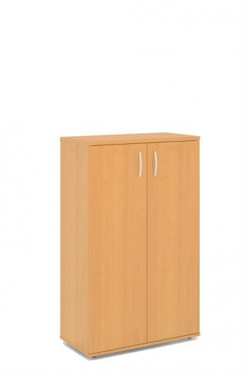 Kancelářská skříň STABIL, 74x37,2x119,6cm LENZA SC43+DSC42