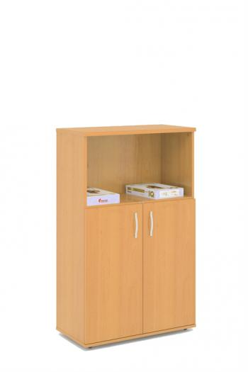 Kancelářská skříň STABIL, 74x37,2x119,6cm LENZA SC43+DSC52
