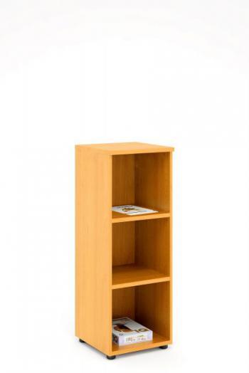 Kancelářská skříň - police STABIL, 37,2x37,2x119,6cm LENZA SC43-04