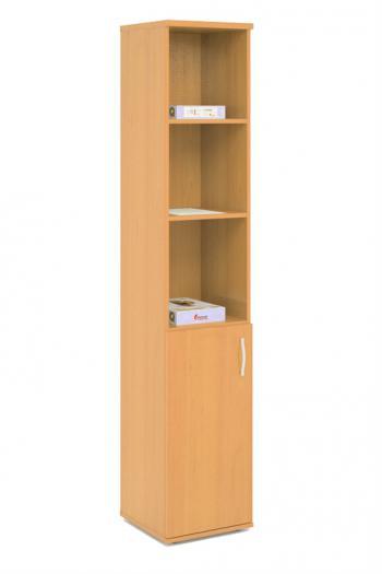 Kancelářská skříň STABIL, 37,2x37,2x190cm LENZA SC23-04+DSC52-04