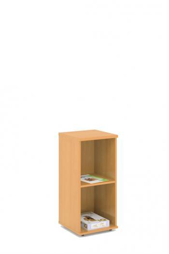 Kancelářská skříň - police STABIL, 37,2x37,2x80cm LENZA SC53-04