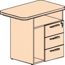 Přístavný kontejner s nikou na PC LINE OFFICE, pravý