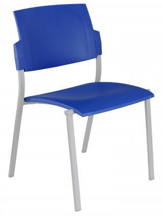 Jednací  židle plastová SQUARE