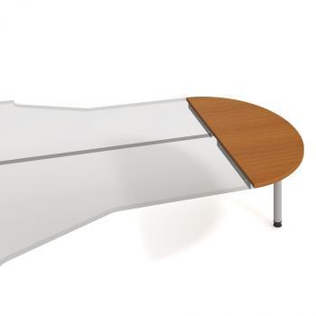 Kancelářský přídavný stůl GATE, GP 160, 160x75,5x60cm HOBIS GP 160